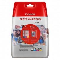 Sada Canon CLI-571 XL multipack (4ks) + 50x fotopapír