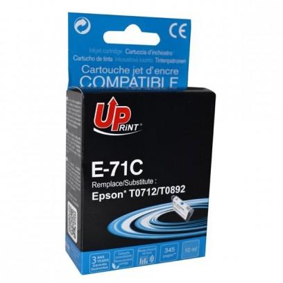 Kompatibilní Epson T0712 modrá, 13ml