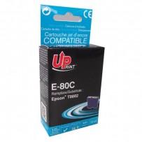 UPrint kompatibilní ink s C13T08024011, cyan, 11ml, E-80C, pro Epson R265, RX560, R360
