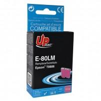 UPrint kompatibilní ink s C13T08064011, light magenta, 11ml, E-80LM, pro Epson R265, RX560, R360