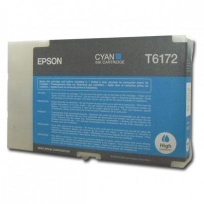 Epson originální ink C13T617200, cyan, 100ml, high capacity, Epson B500, B500DN