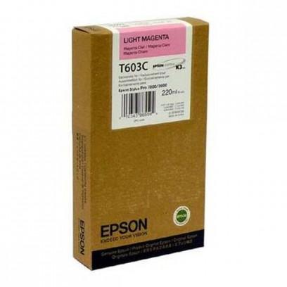 Epson originální ink C13T603C00, light magenta, 220ml, Epson Stylus Pro 7800, 9800