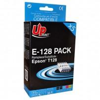 Zvýhodněná sada kompatibilní Epson T1285 černá + modrá + červená + žlutá