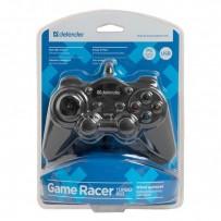Gamepad Defender Game Racer Turbo RS3, 12tl., USB, černý, vibrační, Windows XP/Vista/7