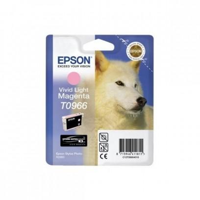 Epson originální ink C13T09664010, light magenta, 13ml, Epson Stylus Photo R2880