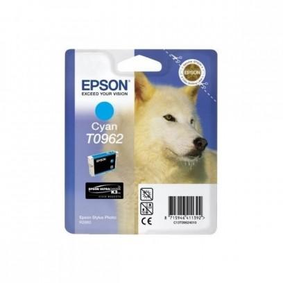 Epson originální ink C13T09624010, cyan, 13ml, Epson Stylus Photo R2880