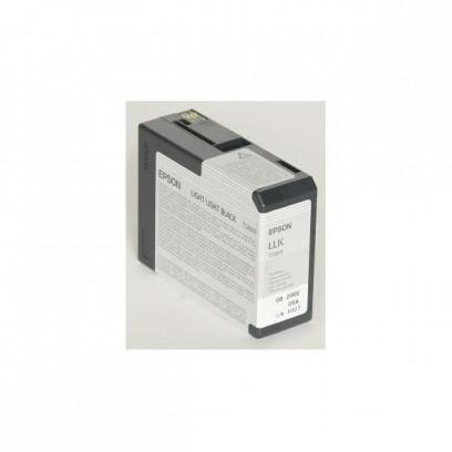 Epson originální ink C13T580900, light light black, 80ml, Epson Stylus Pro 3800