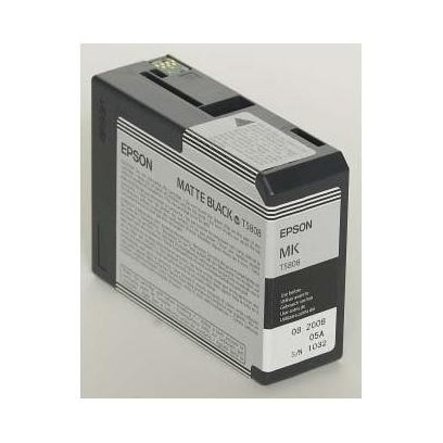 Epson originální ink C13T580800, matte black, 80ml, Epson Stylus Pro 3800