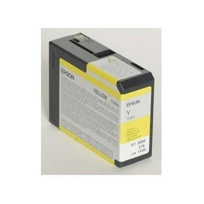 Epson originální ink C13T580400, yellow, 80ml, Epson Stylus Pro 3800