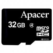 Apacer paměťová karta Secure Digital, 32GB, micro SDHC, AP32GMCSH4-RA, Class 4, bez adaptéru