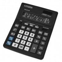 Citizen Kalkulačka CDB1201-BK, černá, stolní, dvanáctimístná