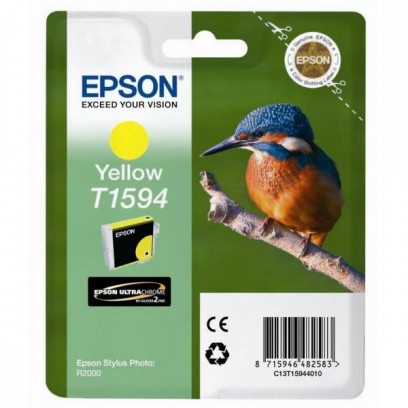 Epson originální ink C13T15944010, yellow, 17ml, Epson Stylus Photo R2000