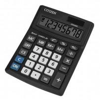 Citizen Kalkulačka CMB801-BK, černá, stolní, osmimístná, duální napájení