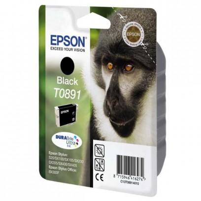 Epson originální ink C13T08914021, black, blistr s ochranou, 5,8ml, Epson Stylus S20, SX100, SX200, SX400