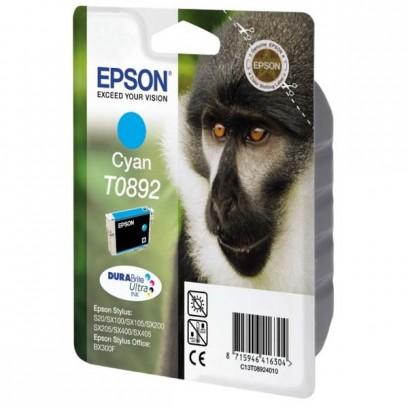 Epson originální ink C13T08924011, cyan, 3,5ml, Epson Stylus S20, SX100, SX200, SX400