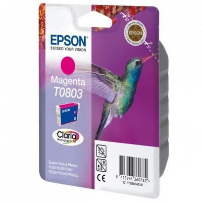 Epson originální ink C13T08034011, magenta, 7,4ml, Epson Stylus Photo PX700W, 800FW, R265, 285, 360, RX560