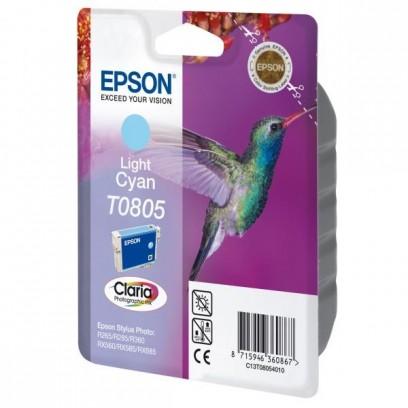 Epson originální ink C13T08054011, light cyan, Epson Stylus Photo PX700W, 800FW, R265, 285, 360, RX560
