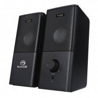 Marvo reproduktory SG-117, 2.0, 6W, černé, regulace hlasitosti, herní, USB+3.5mm konektor200Hz-16kHz