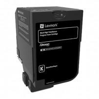 Toner Lexmark 74C2HK0 černý