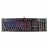 A4Tech klávesnice B820R, herní, černá, drátová (USB), CZ, mechanická, podsvícená