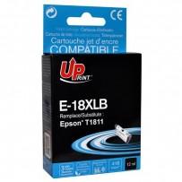 UPrint kompatibilní ink s C13T18114010, 18XL, black, 470str., 15ml, E-18XLB, pro Epson Expression Home XP-102, XP-402, XP-405...