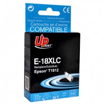 UPrint kompatibilní ink s C13T18124010, 18XL, cyan, 10ml, E-18XLC, pro Epson Expression Home XP-102, XP-402, XP-405, XP-302