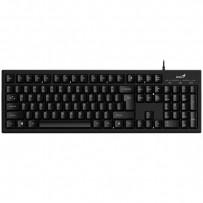 Genius Klávesnice Smart KB-100, klasická, lesklá černá, drátová (USB), CZ/SK