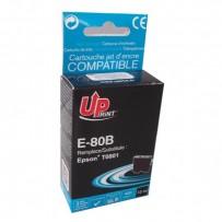 UPrint kompatibilní ink s C13T08014011, black, 11ml, E-80B, pro Epson R265, RX560, R360