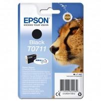 Epson originální ink C13T07114022, black, blistr s ochranou, 7,4ml, Epson D78, DX4000, DX4050, DX5000, DX5050, DX6000, DX605