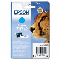 Epson T0712 modrá, 5.5ml, blistr