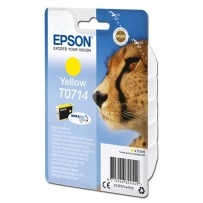 Epson T0714 žlutá, 5.5ml, blistr