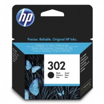 HP ink F6U66AE, HP 302, black, blistr, 190str., 3.5ml, HP OJ 3830,3834,4650, DJ 2130,3630,1010, Envy 4520