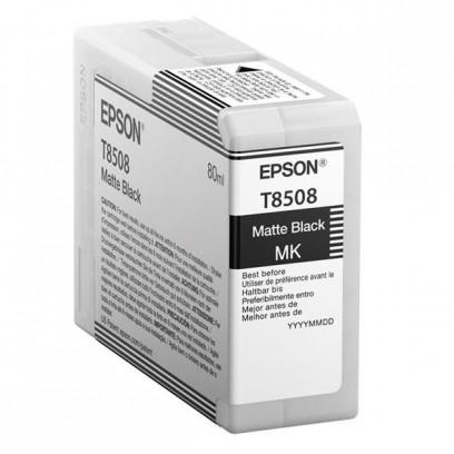 Epson originální ink C13T850800, matt black, 80ml, Epson SureColor SC-P800