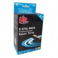 Sada kompatibilní Epson 27XL černá + modrá + červená + žlutá