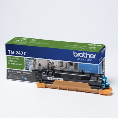 Toner Brother TN-247C, modrý, 2300 stran