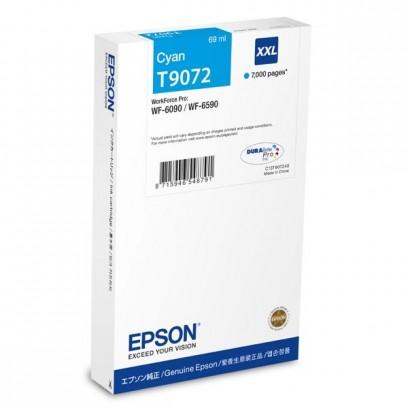 Epson C13T907240, T9072 XXL modrá