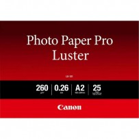 """Canon LU-101 Photo Paper Pro Luster, foto papír, lesklý, bílý, A2, 16.54x23.39"""", 260 g/m2, 25 ks, 6211B026, inkoustový"""