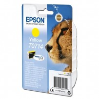 Epson originální ink C13T07144012, yellow, 405str., 5,5ml, Epson D78, DX4000, DX4050, DX5000, DX5050, DX6000, DX605