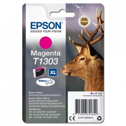 Epson originální ink C13T13034012, T1303, magenta, 765str., 10,1ml, Epson Stylus Office BX320FW