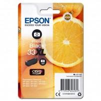 Epson 33XL, foto černá, 8.1ml