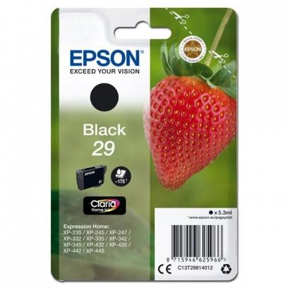 Epson T29 černá, 5,3ml