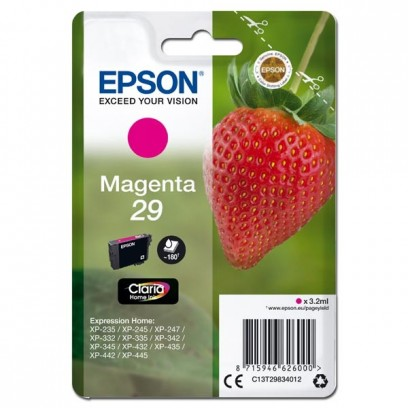 Epson T29 červená, 3,2ml