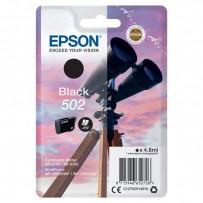 Epson 502 černá, 4.6ml