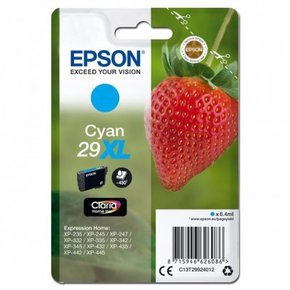 Epson T29XL modrá, 6,4ml