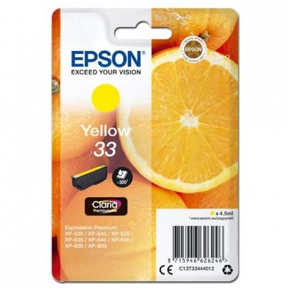 Epson 33 žlutá, 4.5ml
