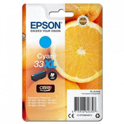 Epson 33XL modrá, 8.9ml