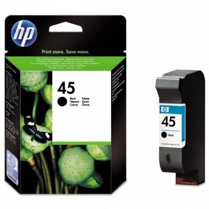 HP originální ink 51645AE, HP 45, black, 930str., 42ml, HP DeskJet 850, 970Cxi, 1100, 1200, 1600, 6122, 6127