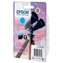 Epson502 modrá, 3.3ml