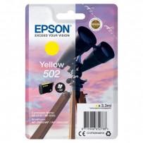 Epson 502 žlutá, 3.3ml