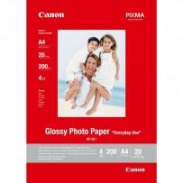 Canon Glossy Photo Paper, foto papír, lesklý, GP-501, bílý, A4, 210 g/m2, 20 ks, 0775B082, inkoustový